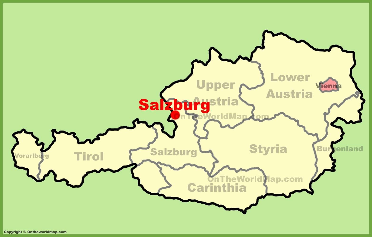 Salzburg Terkep Marlpoint